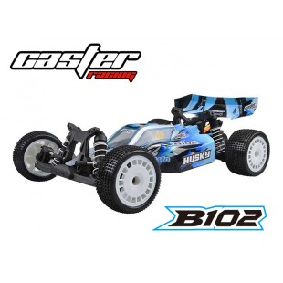 B102RTR03 Caster Racing 1/10 2WD Buggy RTR Brushed HW System