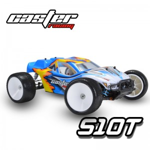 S10T RTR003 EP Off Road Truggy 4WD Brushed RTR W/Battery&Charger