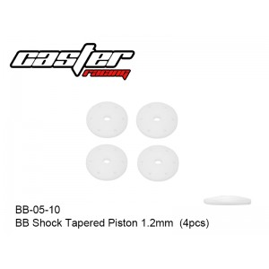 BB-05-10  BB Shock Tapered Piston 1.2mm  (4pcs)