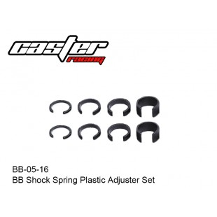BB-05-16  BB Shock Spring Plastic Adjuster Set
