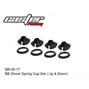 BB-05-17  BB Shock Spring Cup Set ( Up & Down)