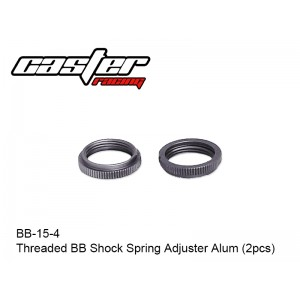 BB-15-4  Threaded BB Shock Spring Adjuster Alum (2pcs)