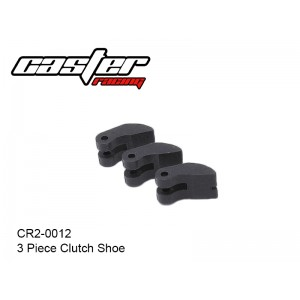 CR2-0012  3 Piece Clutch Shoe