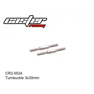 CR2-0024  Turnbuckle 3x30mm