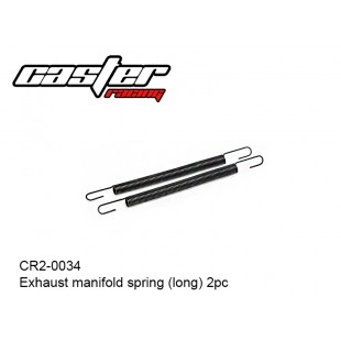 CR2-0034  Exhaust manifold spring (long)  2pc