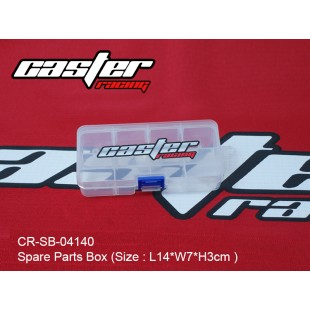 CR-SB-04140   Spare Parts Box  (Size : L:14xW:7xH:3cm )
