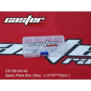 CR-SB-04140   Spare Parts Box  (Size : L:14xW:7xH:3cm )