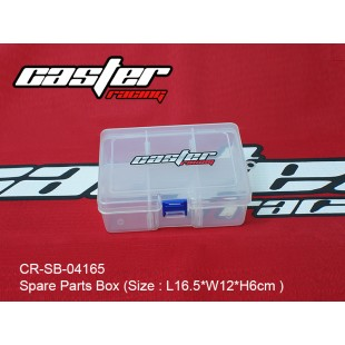CR-SB-04165  Spare Parts Box (Size : L16.5xW12xH6cm )