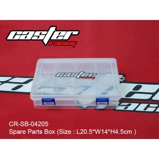 CR-SB-04205  Spare Parts Box (Size : L20.5*W14*H4.5cm )