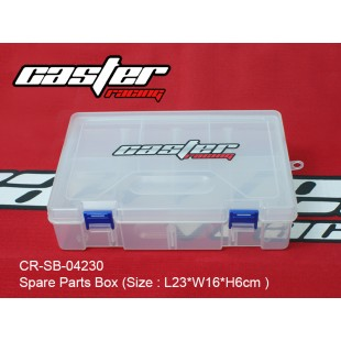 CR-SB-04230  Spare Parts Box (Size : L23xW16xH6cm )