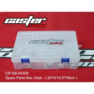 CR-SB-04300  Spare Parts Box (Size : L30xW19.5xH6cm )