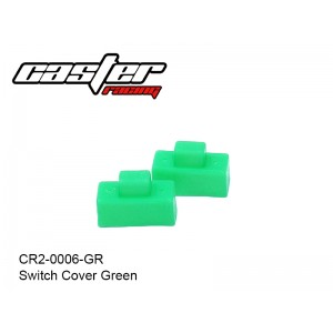CR2-0006-GR  Switch Cover Green