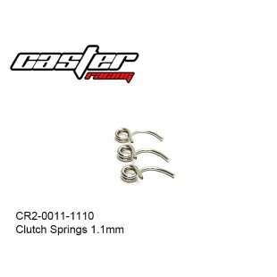 CR2-0011-1110  Clutch Springs 1.1mm