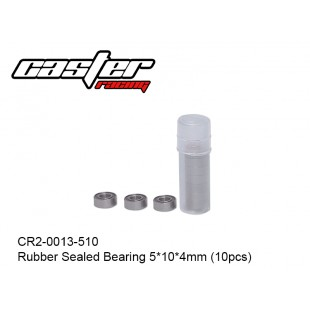 CR2-0013-510  Rubber Sealed Bearing 5x10x4mm (10pcs)