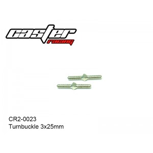 CR2-0023  Turnbuckle 3x25mm