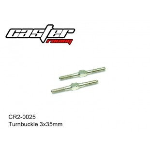 CR2-0025  Turnbuckle 3x35mm