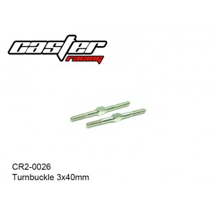 CR2-0026  Turnbuckle 3x40mm