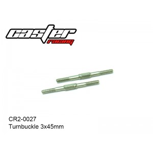 CR2-0027  Turnbuckle 3x45mm