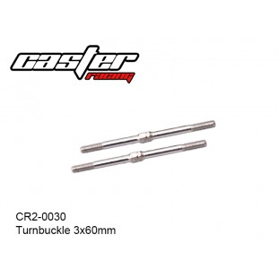 CR2-0030  Turnbuckle 3x60mm