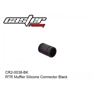 CR2-0038-BK  RTR Muffler Silicone Connector Black