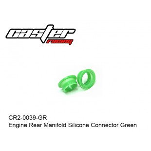 CR2-0039-GR  Engine Rear Manifold Silicone Connector Green