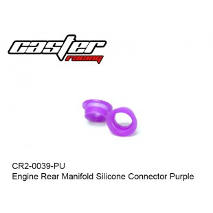 CR2-0039-PU  Engine Rear Manifold Silicone Connector Purple