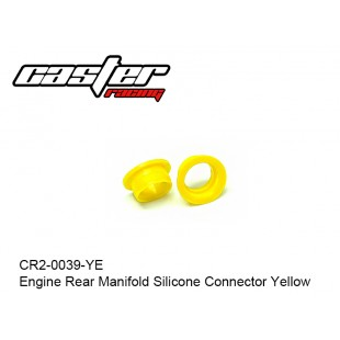 CR2-0039-YE  Engine Rear Manifold Silicone Connector Yellow