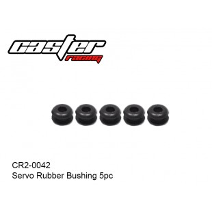 CR2-0042  Servo Rubber Bushing 5pc