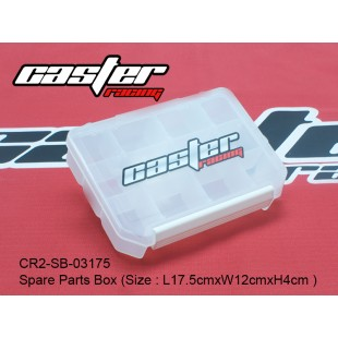 CR2-SB-03175  Spare Parts Box (Size : L17.5cmxW12cmxH4cm )