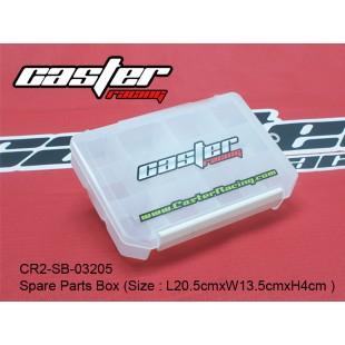 CR2-SB-03205  Spare Parts Box (Size : L20.5cmxW13.5cmxH4cm )