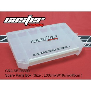 CR2-SB-03300   Spare Parts Box (Size : L30cmxW19cmxH5cm )