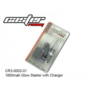 CR3-0002-01  1800mah Glow Starter with Charger