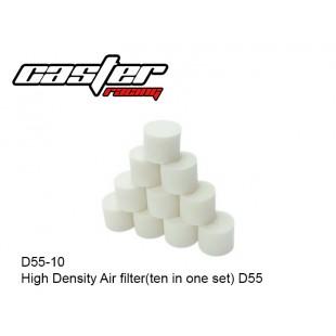 D55-10  High Density Air filter(ten in one set) D55