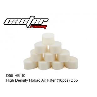 D55-HB-10  High Density Hobao Air Filter (10pcs) D55
