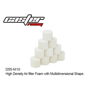 D55-M10  High Density Air filter Foam with Multidimensional Shape