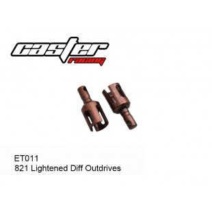 ET011 821 Lightened Diff Outdrives