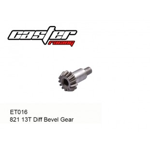 ET016  821 13T Diff Bevel Gear