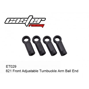 ET029  821 Front Adjustable Turnbuckle Arm Ball End