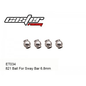 ET034  821 Ball For Sway Bar 6.8mm