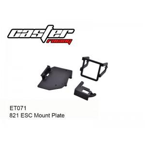 ET071  821 ESC Mount Plate