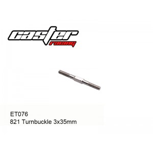 ET076  821 Turnbuckle 3x35mm