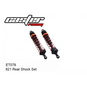 ET078  821 Rear Shock Set