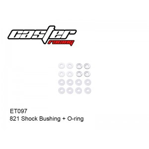 ET097  821 Shock Bushing + O-ring