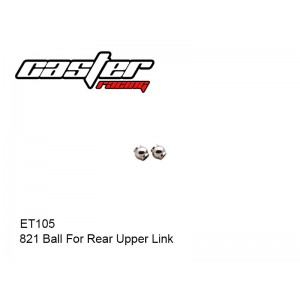 ET105  821 Ball For Rear Upper Link