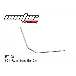 ET108  821  2.8 Rear Sway Bar