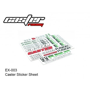 EX-0003  Caster Sticker Sheet