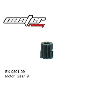 EX-0501-09  Motor  Gear  9T