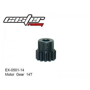 EX-0501-14  Motor  Gear  14T