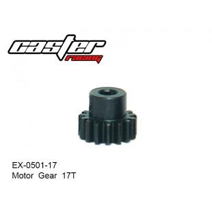 EX-0501-17  Motor  Gear  17T