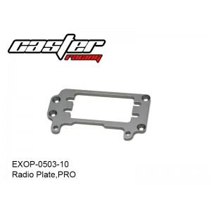 EXOP-0503-10  Radio Plate,PRO